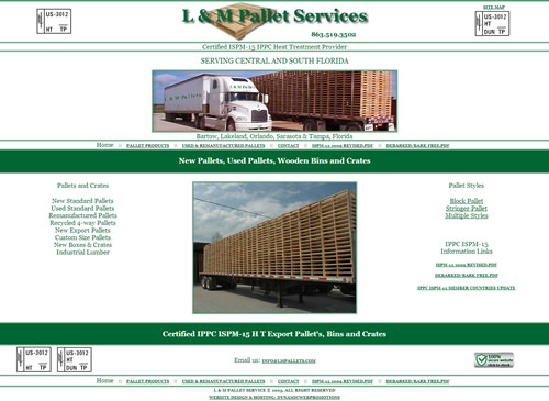 Graphic tn for L & M Pallet Services